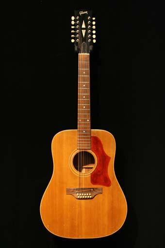 vintage gibson 12 string acoustic guitar 1966 charley s guitar shop new used and vintage. Black Bedroom Furniture Sets. Home Design Ideas