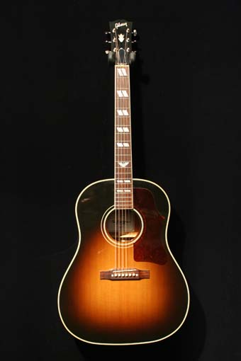 Gibson Kris Kristofferson Sj Acoustic Guitar Used