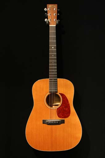 used martin d-18v acoustic guitar