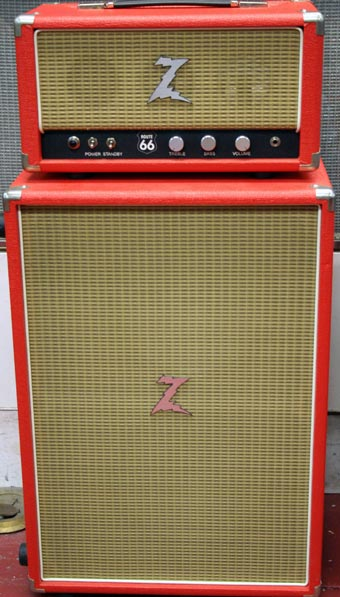 Used Dr. Z Route 66 Head and Z-Best Cabinet - Charley's Guitar ...