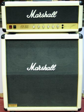 used marshall jcm 800 guitar amp head and cabinet 1982 charley s guitar shop new used and. Black Bedroom Furniture Sets. Home Design Ideas